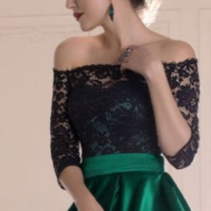 Dresses & Skirts - Beautiful lace and chiffon prom gown